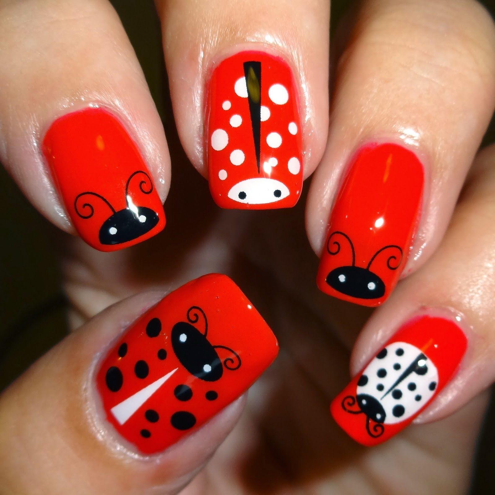Wendy 39 s delights sparkly nails ladybug water decals - Ladybug watering can ...