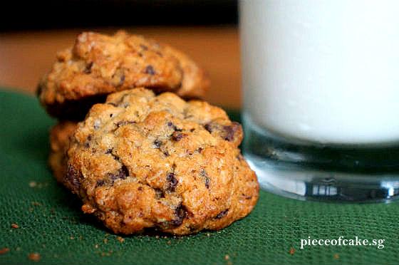 Piece of Cake: Banana Walnut Chocolate Chunk Cookies
