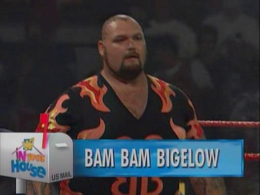WWF / WWE - In Your House 2 - The Lumberjacks - Bam Bam Bigelow defeated Henry Godwin