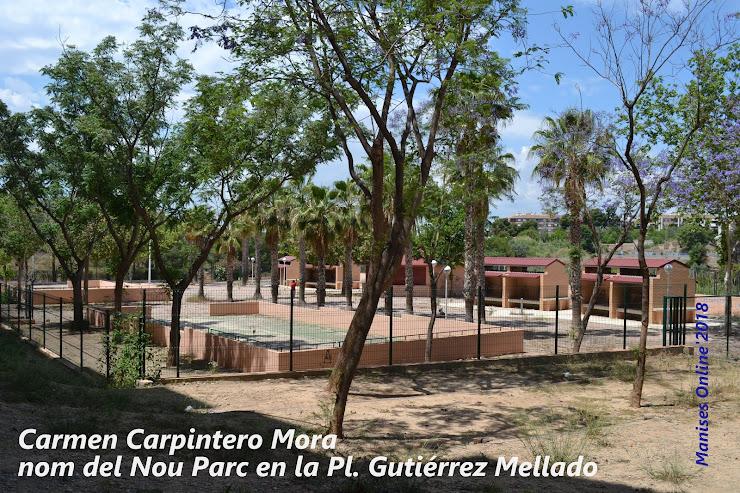 REP 02, PARC DE CARMEN CARPINTERO MORA