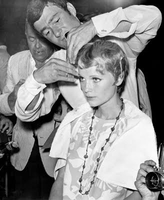 Rosemary's Baby Mia Farrow Hair Cut http://vintagethreadsuk.blogspot.com/2011/08/sixties-hair.html