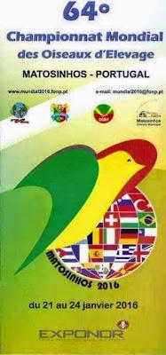 Campeonato Mundial de Ornitologia 2016