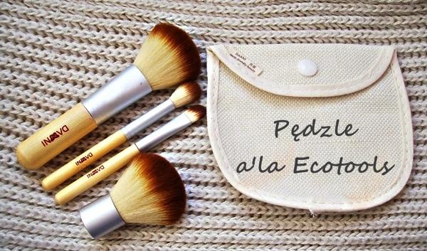 Pędzle a'la Ecotools Biedronka/BornPrettyStore
