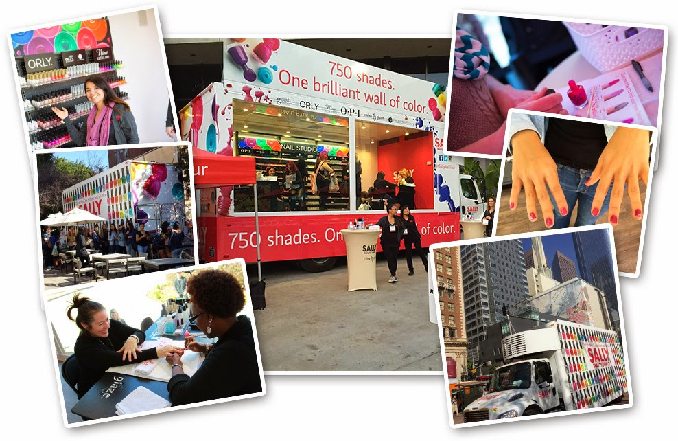 The #SallyNailTour Brings Nail Art and Free Mani\'s To Dallas March ...