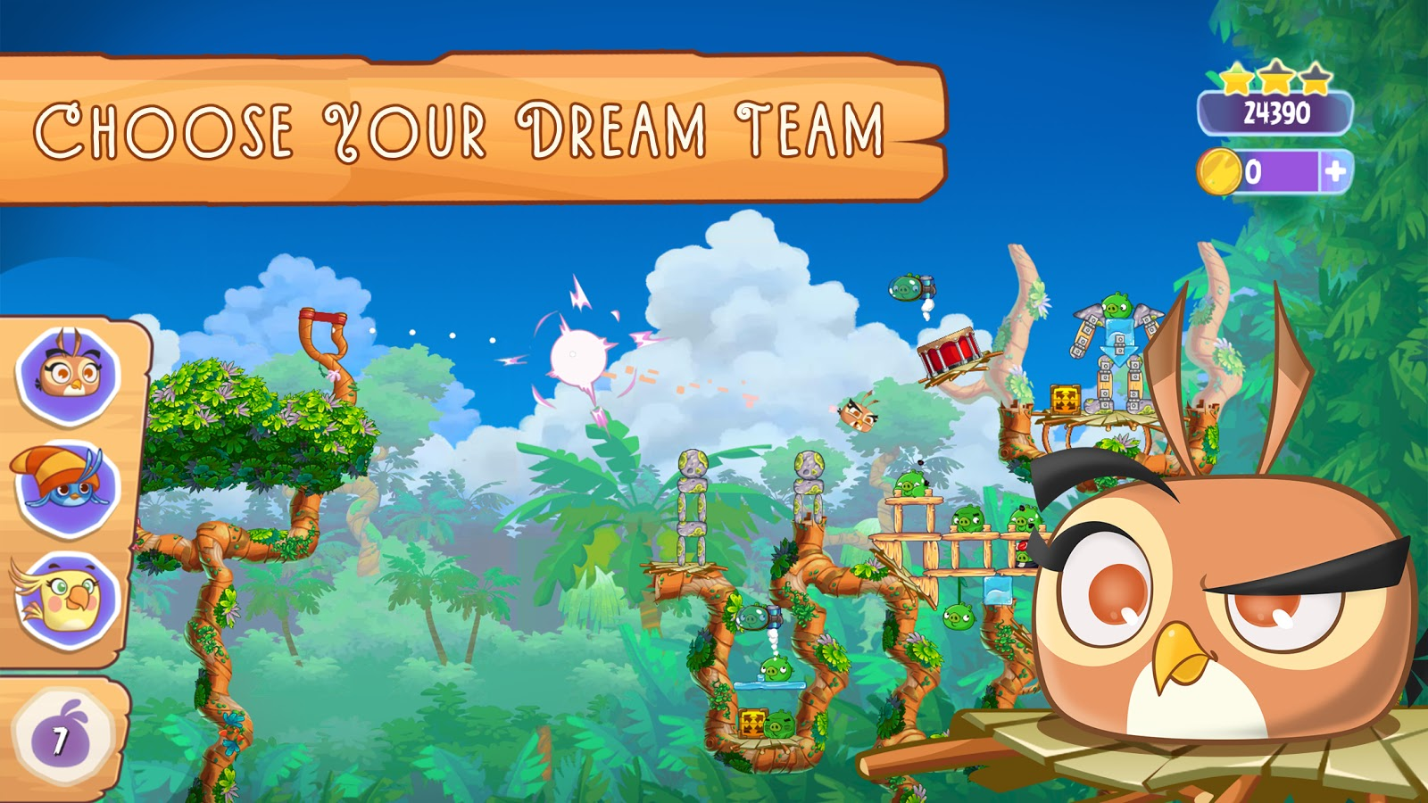 Angry Birds Stella 1.1.1 APK Full MOD Terbaru screenshot
