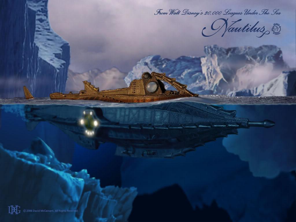 как называлась подводная лодка капитана немо