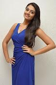 Nikitha Narayan glam pics in blue-thumbnail-18