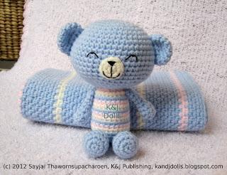 Ravelry: Amigurumi Bear pattern by Pierrot (Gosyo Co., Ltd)