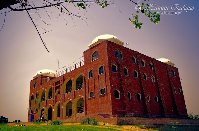 The Multan Museum, in front of the Tomb of Shah Rukn-e-alam, Multan.