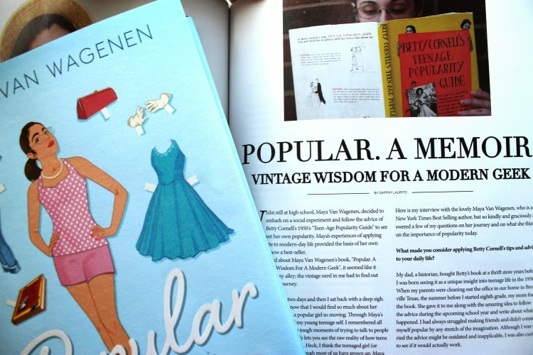 A Vintage Nerd, Vintage Blog, Vintage Life Magazine, Retro Fashion Lifestyle, Maya Van Wagenen