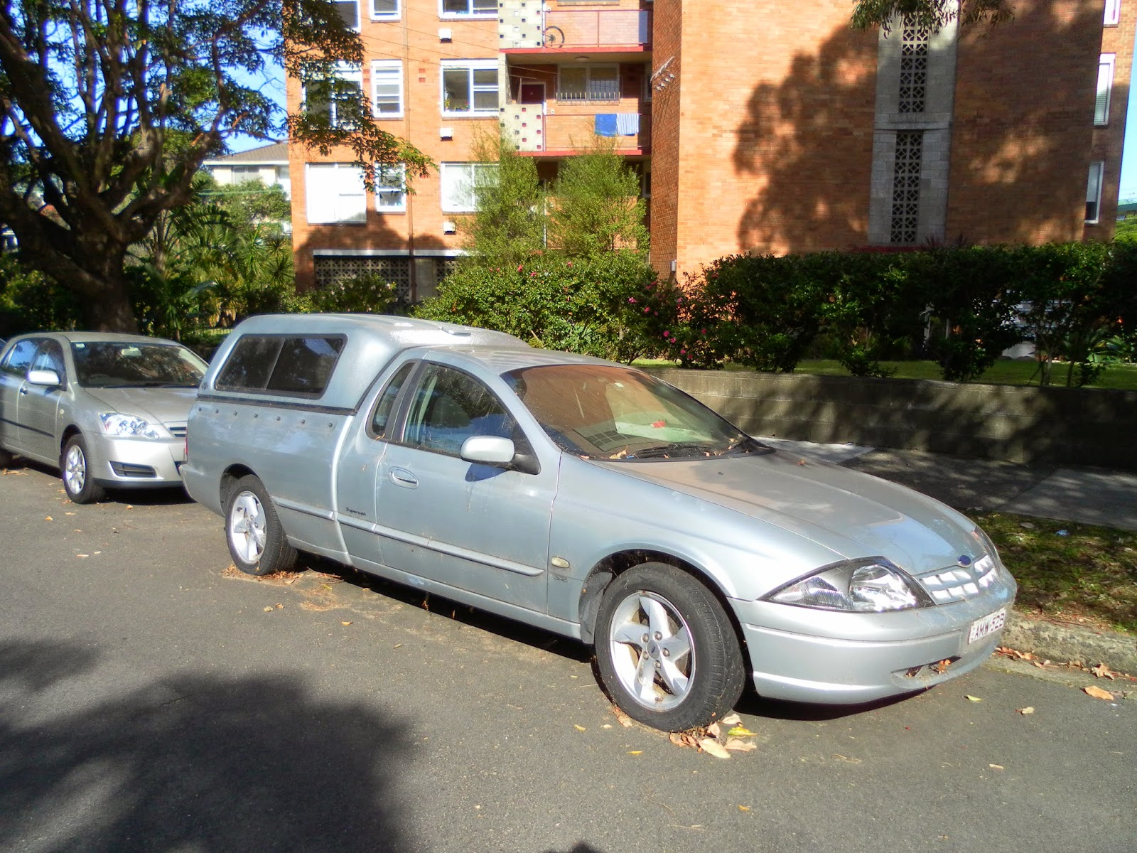 2002 Ford BA Falcon XLS Ute + Challenge Flexiglass canopy & Aussie Old Parked Cars: 2002 Ford BA Falcon XLS Ute + Challenge ...