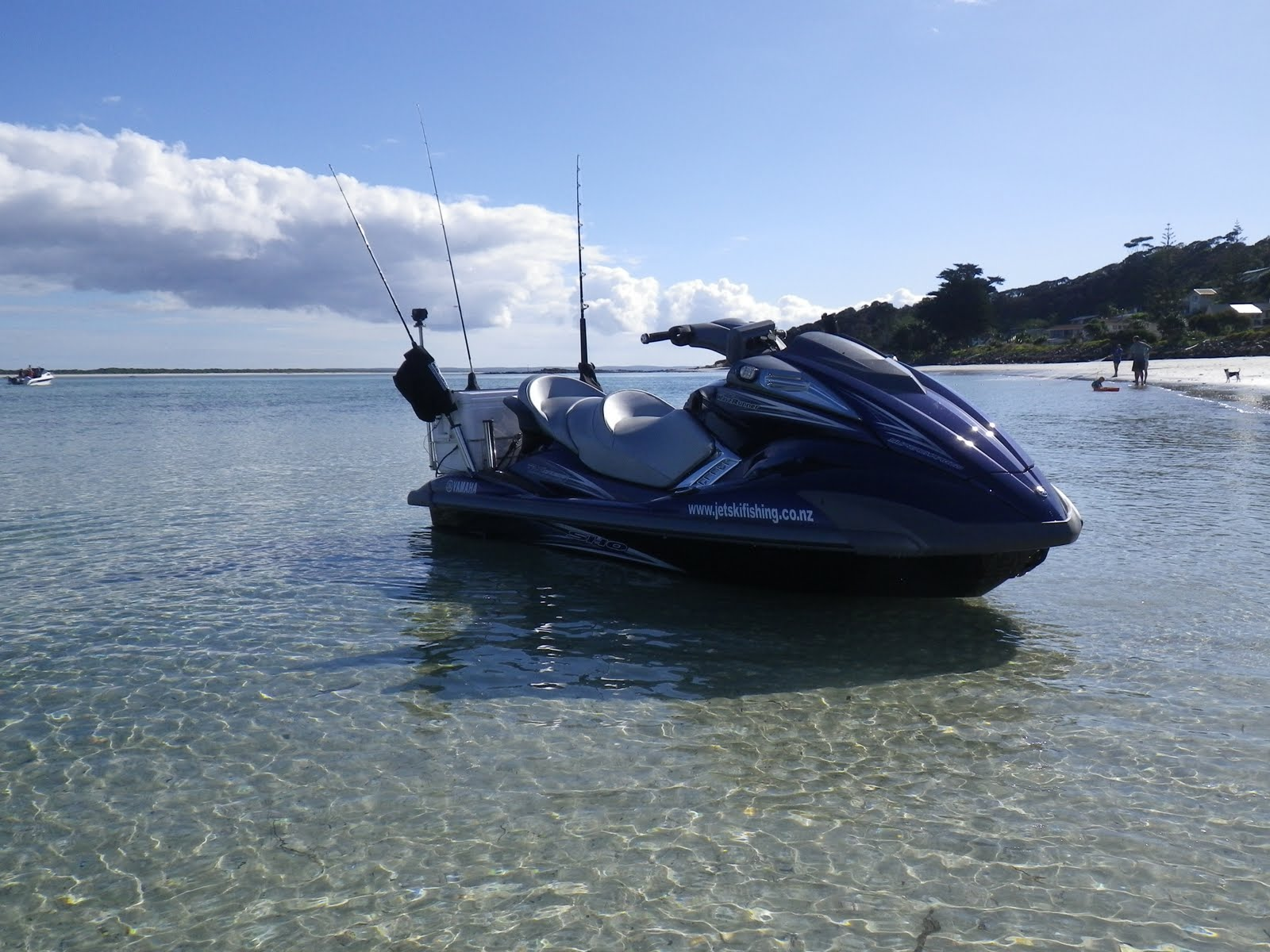 Jet ski fishing blog report 060 fishing the far north on for Fishing jet ski