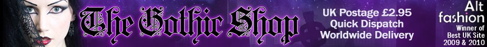 The Gothic Shop Blog