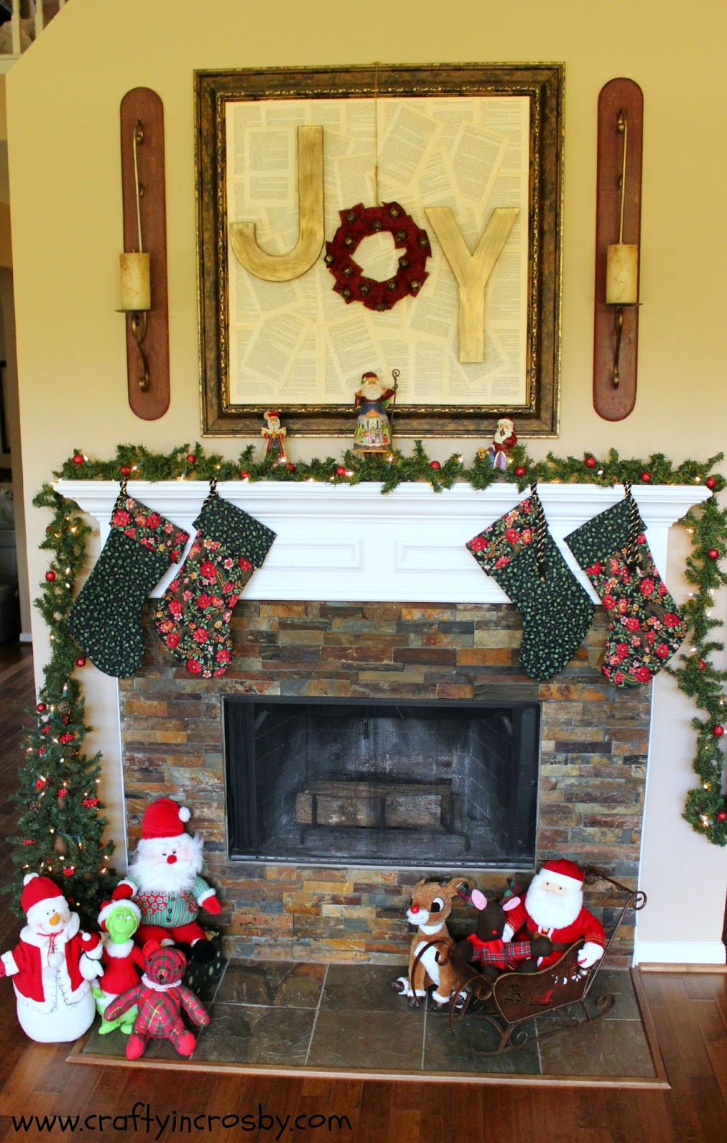 Joy, Hobby Lobby, Christmas Mantel, Christmas DIY, Joy Sign
