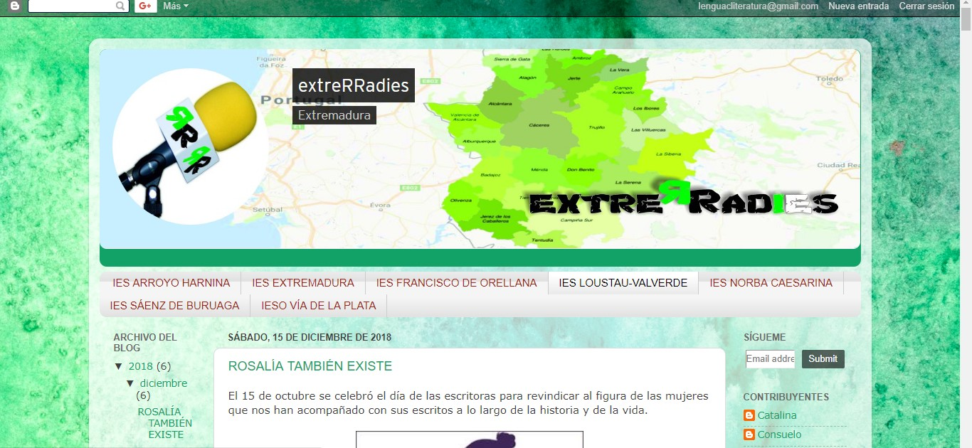 Blog Extrerradies / RadioEdu