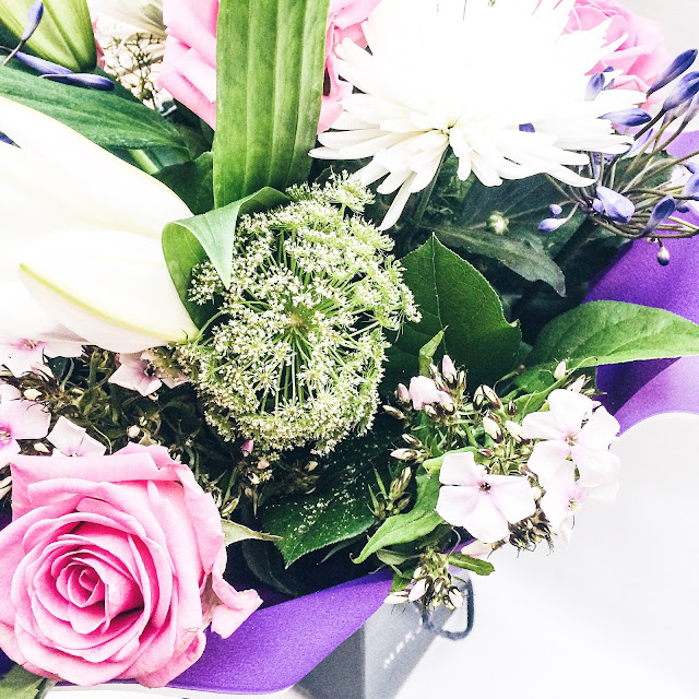 Bouquet of flowers from Instagram