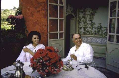 Carlo Ponti ve Sophia Loren - Villa Romana