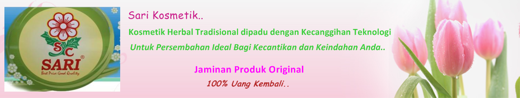 Distributor Resmi Cream Sari Original, Harga termurah & Bergaransi 100% Uang Kembali..