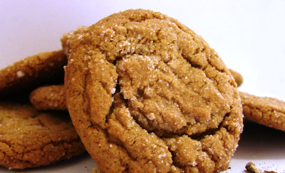 National Ginger Snap Day | Garden County Cooking