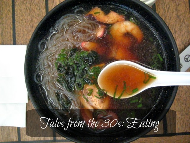 Tales from the 30s: Eating