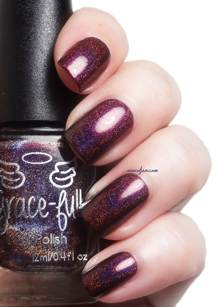 xoxoJen's swatch of Grace-Full Vlad III the Tyrant