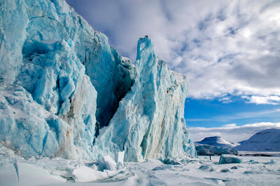 An icescape from Frozen Planet