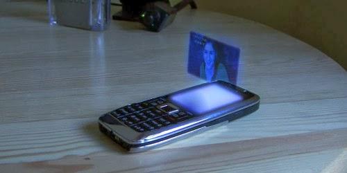 Futuristic Floating Hologram Effect