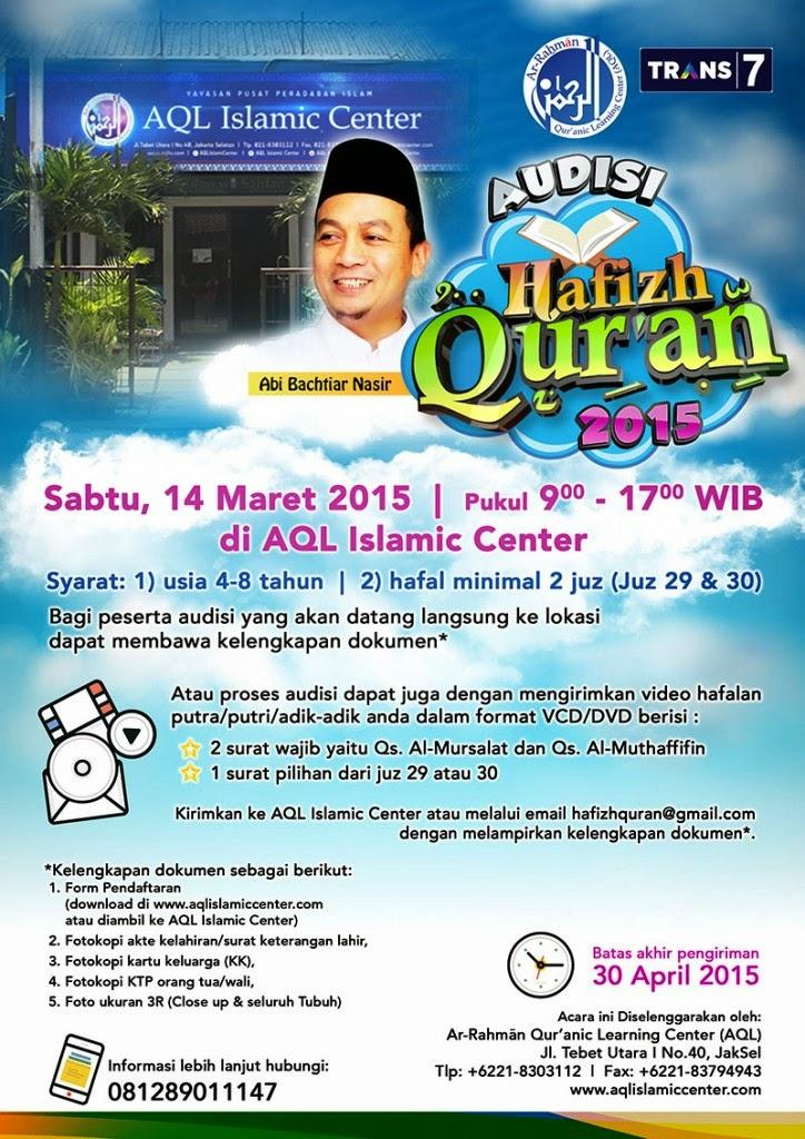 Audisi Hafiz Indonesia 2015