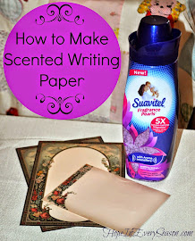 Make Scented Writing Paper!