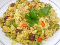 Risoto de Legumes com Açafrão (vegana)