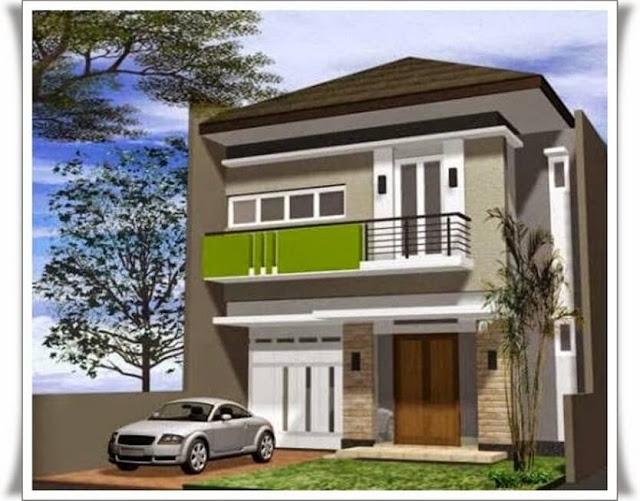 rumah minimalis bertingkat terbaru