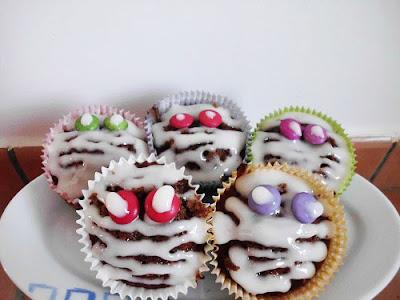 Mummy Cupcakes www.happyhealthymotivated.com