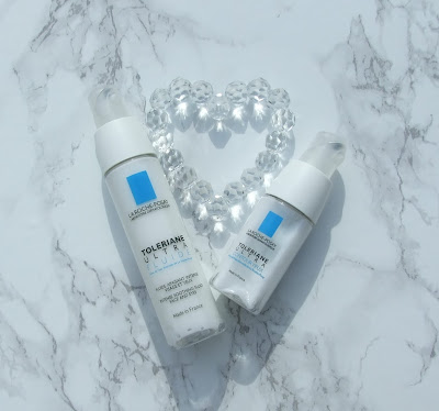 la roche posay toleriane eye cream fluid beauty blog review