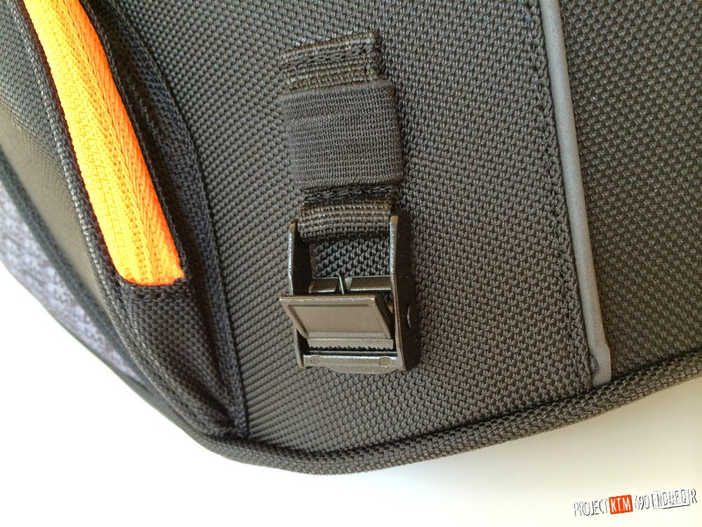 KTM powerparts large rear bag buckle