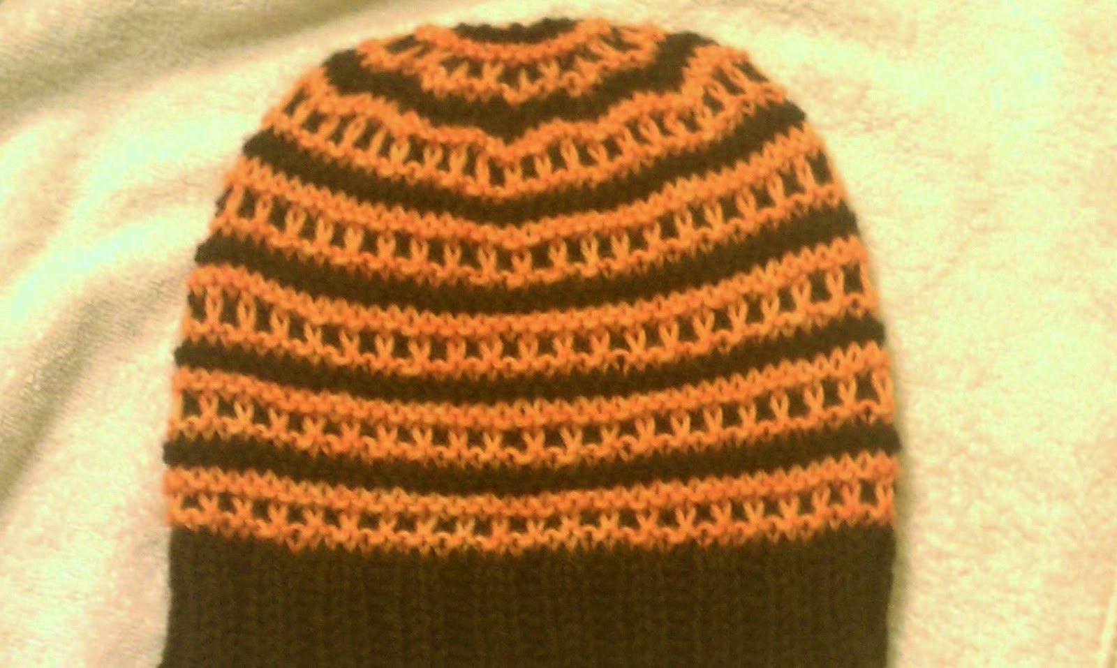 Don\'t Drool on the Wool: Windowpane Hat Pattern