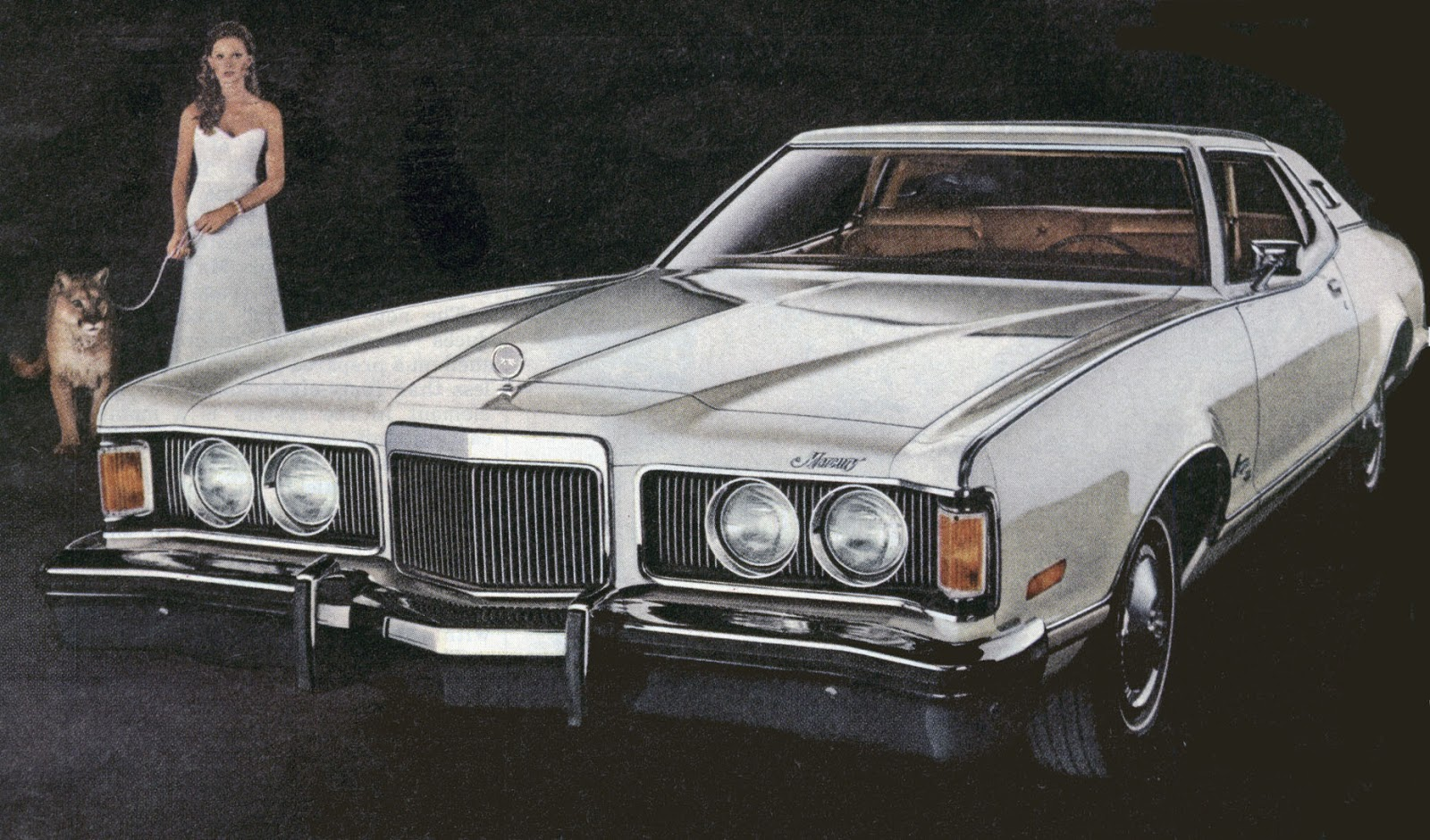 The 1974 Cougar Only Looked Same It Was Completely Diffe And Much More Posh