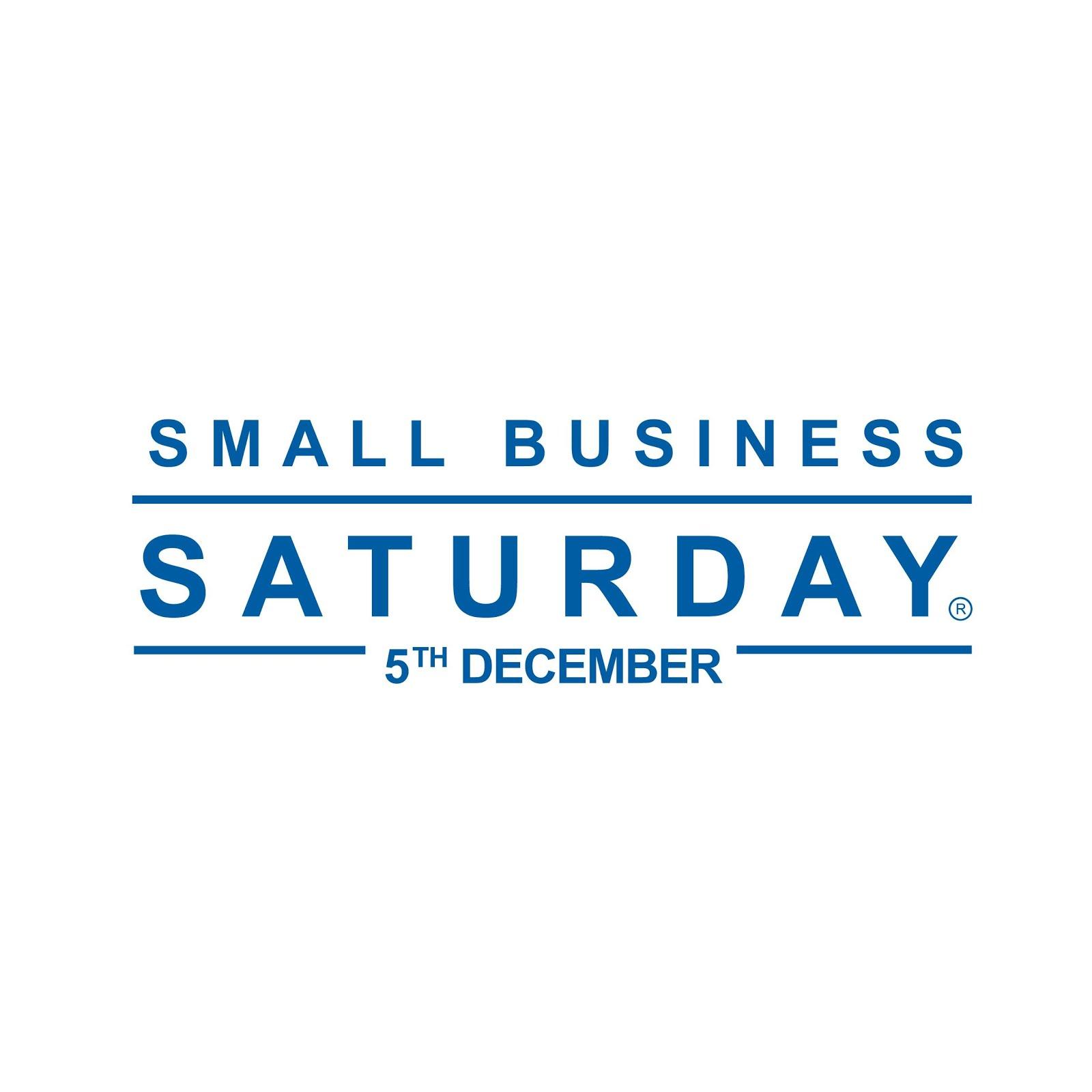 Small Business Saturday 5th Dec