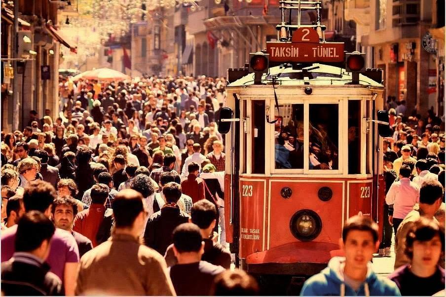 İstiklâl Cad. İstanbul