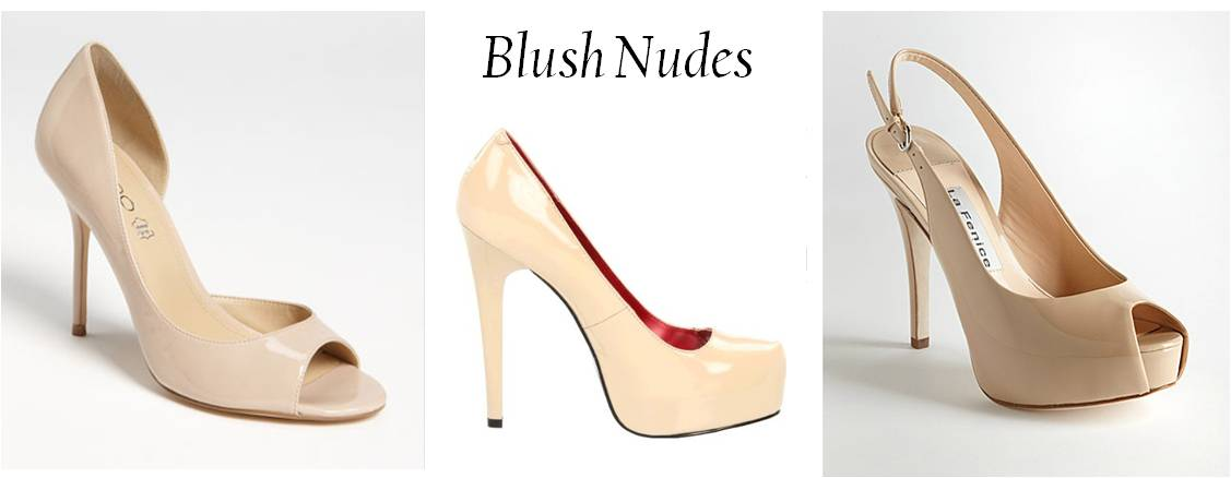 There are tons of nude pumps out there to choose from in varying styles, ...