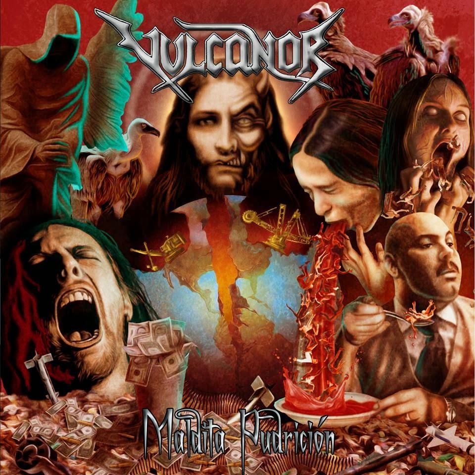 Vulcanor - Maldita Pudrición (2013)
