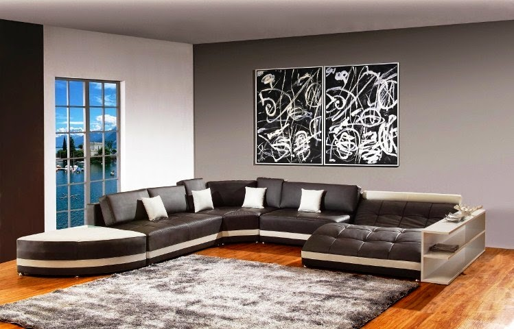 Paint color ideas for living room accent wall for Painting wall designs for living room