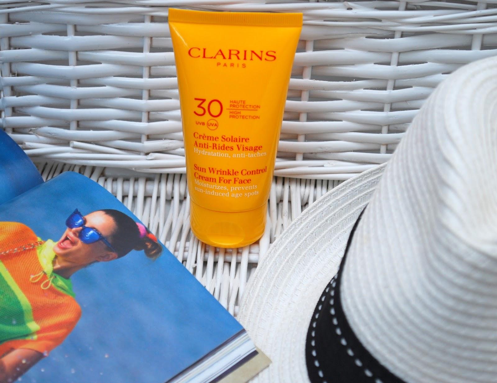 veraanda beauty clarins uvb 30 creme solaire anti. Black Bedroom Furniture Sets. Home Design Ideas