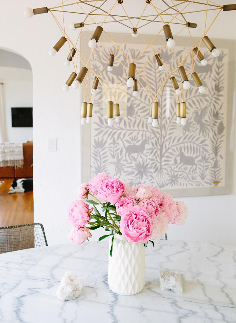 mid century modern design dining room
