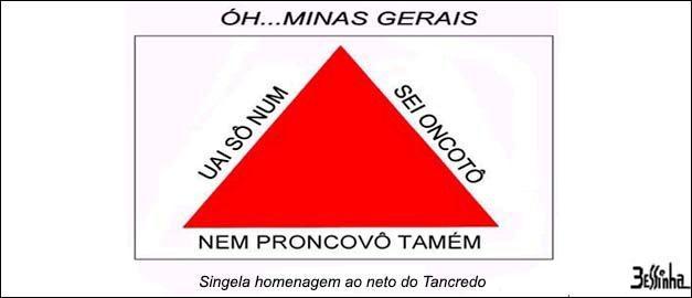 Bandeira Minas gerais bessinha