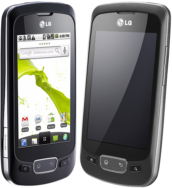 lg optimus one black. LG Optimus One has