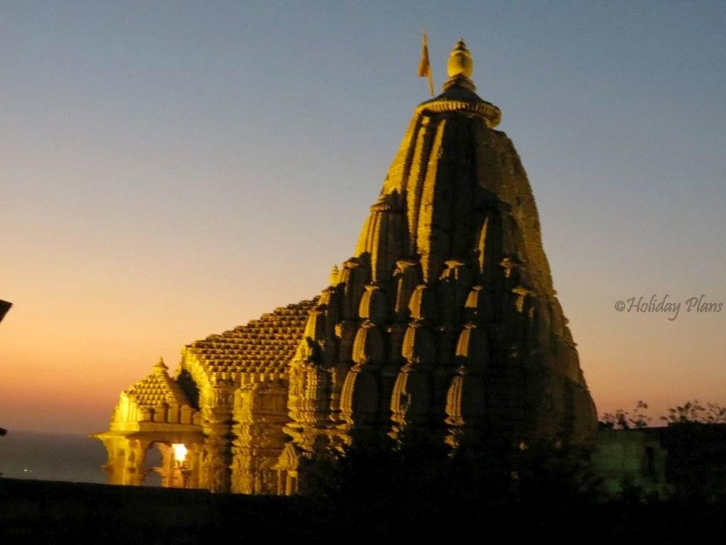 Meera Temple at night