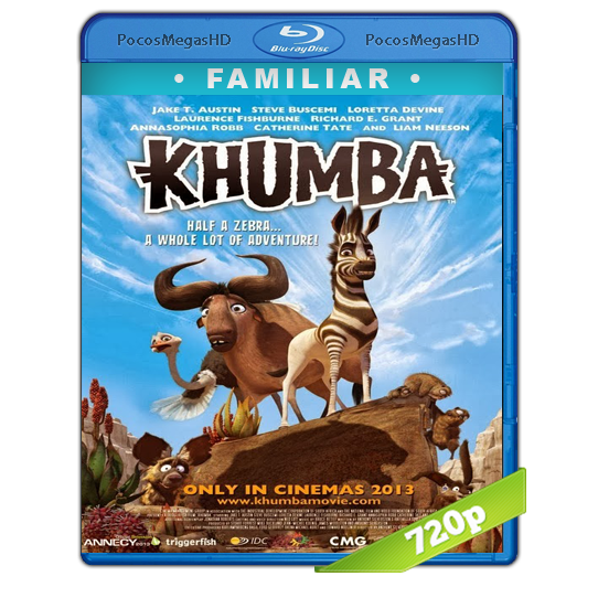 Khumba(2013) BrRip 720p Inglés AC3+subs