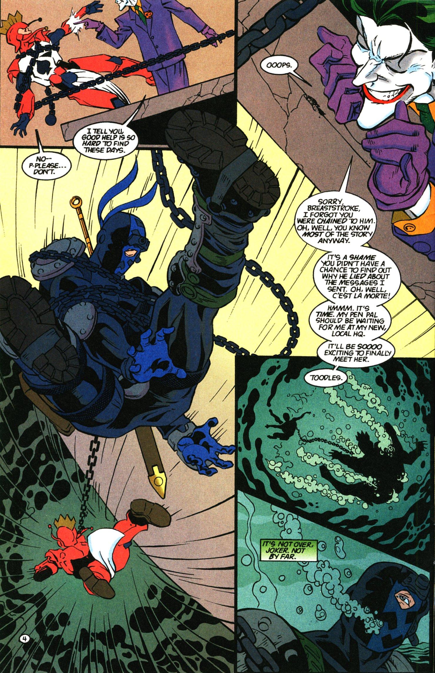 Deathstroke (1991) Issue #58 #63 - English 5