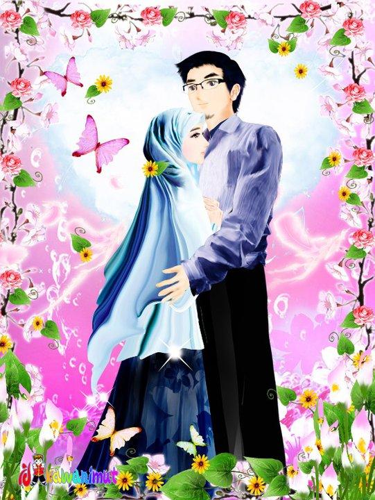 gambar gambar kartun islamic