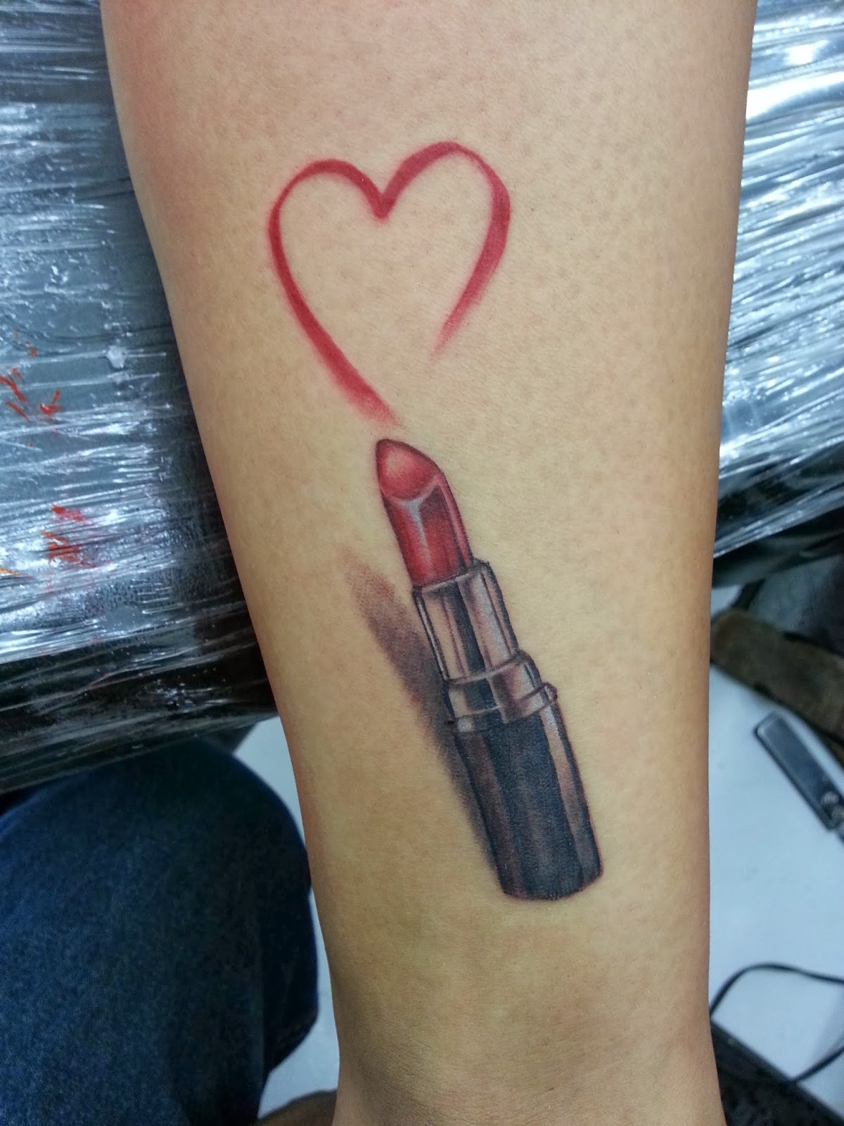 Mac Lipstick Tattoo